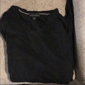 Banana republic black medium sweater v neck